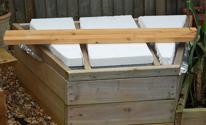 Coldframe-covered
