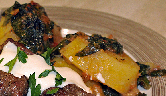 Ispanakli-patates